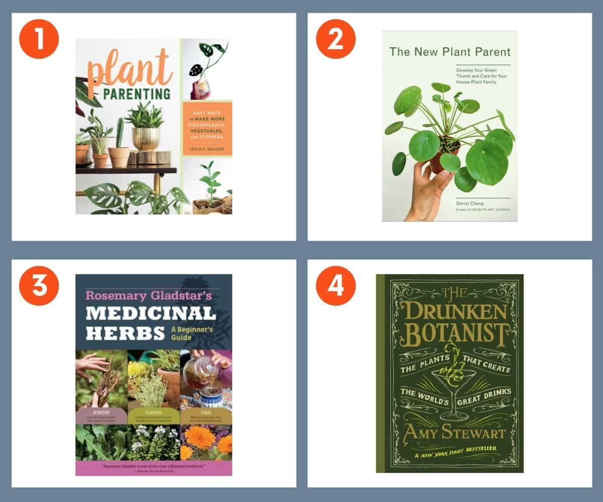 Four books that make good gifts for plant lovers.